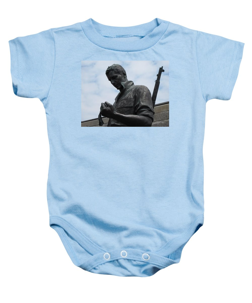 Solider Baby Onesie featuring the photograph Remember Me by Michele Nelson