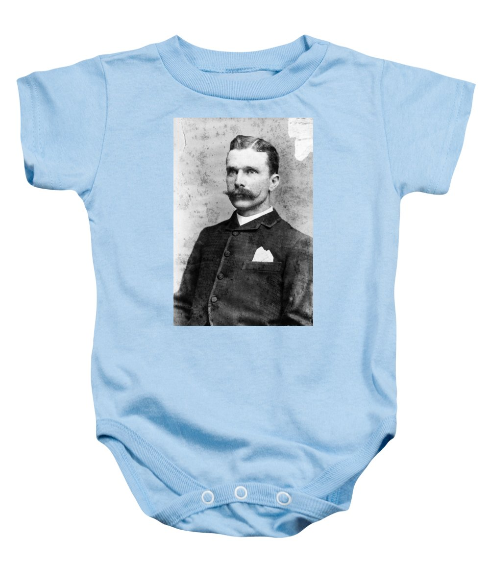 19th Century Baby Onesie featuring the photograph Samuel Bass (1851-1878) by Granger
