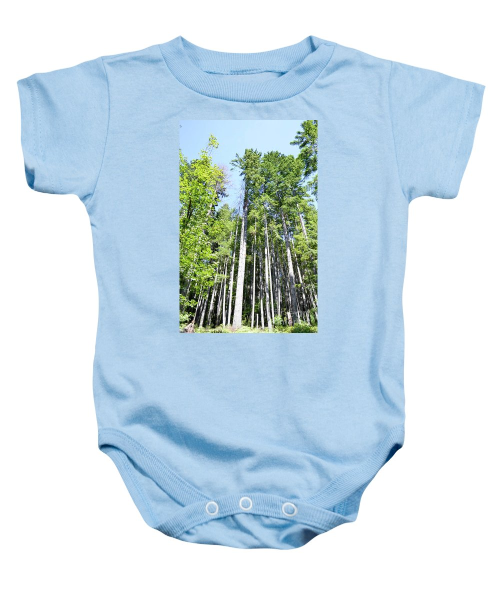 Ocean Baby Onesie featuring the photograph Sky High by Traci Cottingham