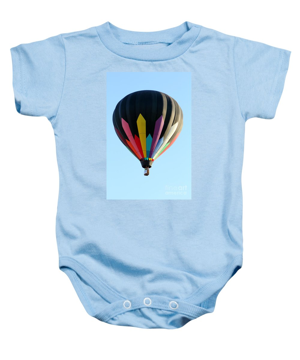 Soaring Diamonds Baby Onesie featuring the photograph Soaring Diamonds by Alycia Christine