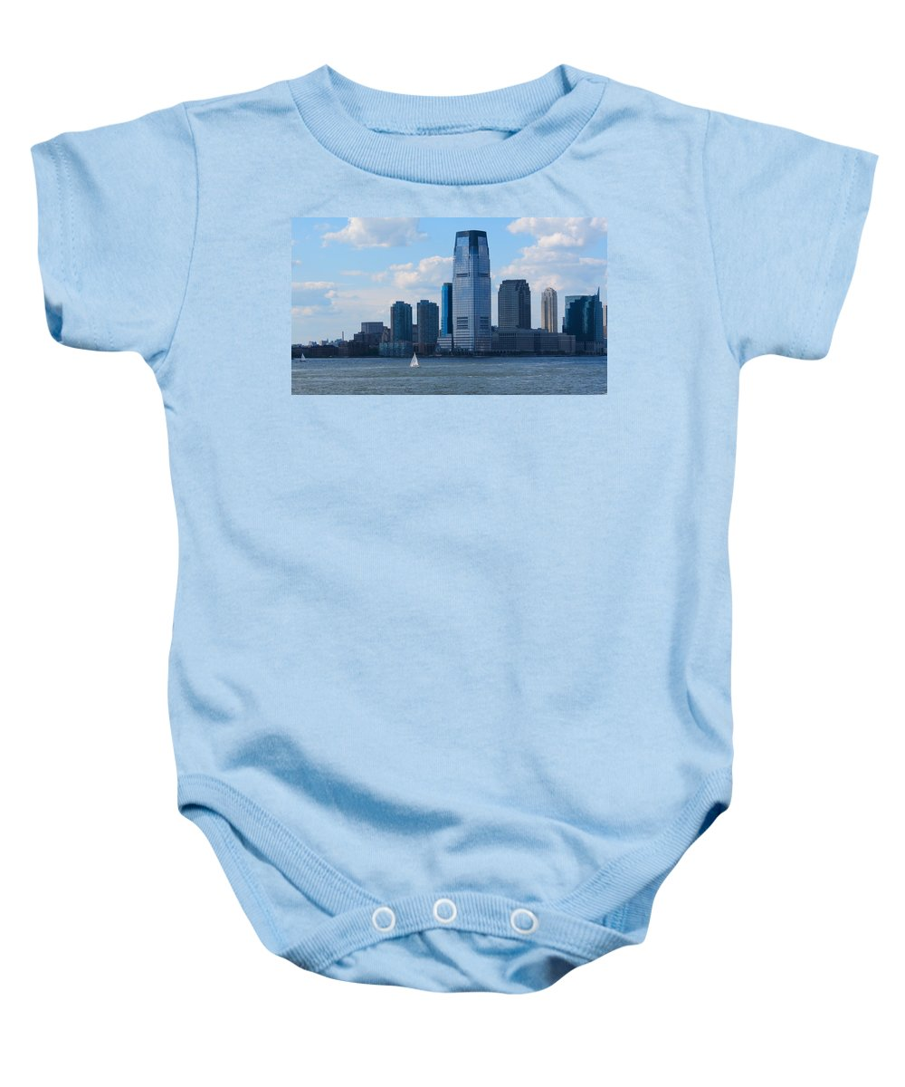 South Ferry Baby Onesie featuring the photograph South Ferry Water Ride7 by Terry Wallace