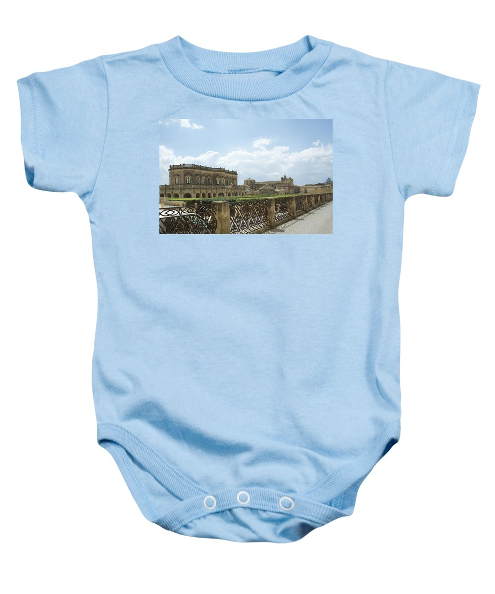 Noto Baby Onesie featuring the photograph The Colors Of Noto by Donato Iannuzzi