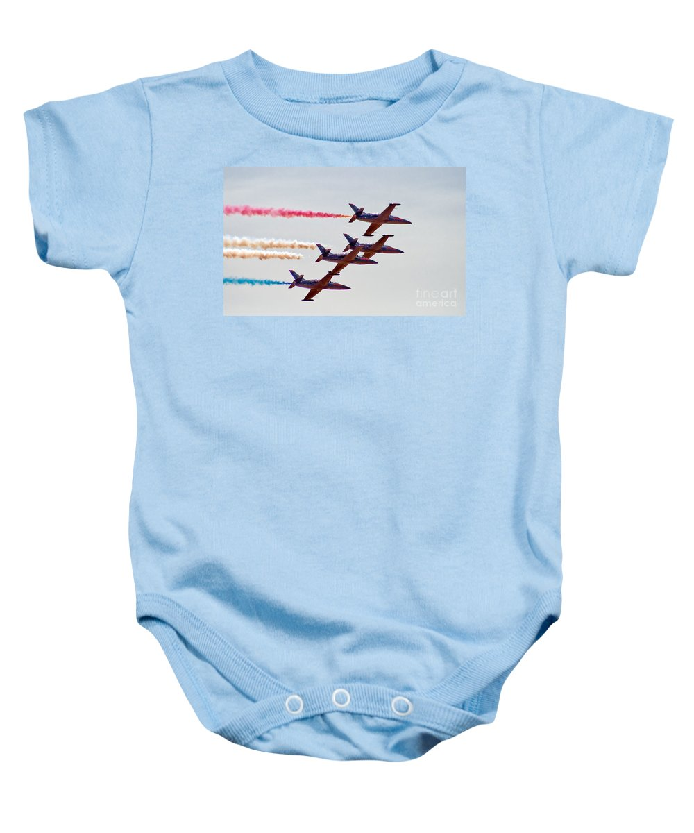 Patriots Baby Onesie featuring the photograph The Patriots by Robert Bales