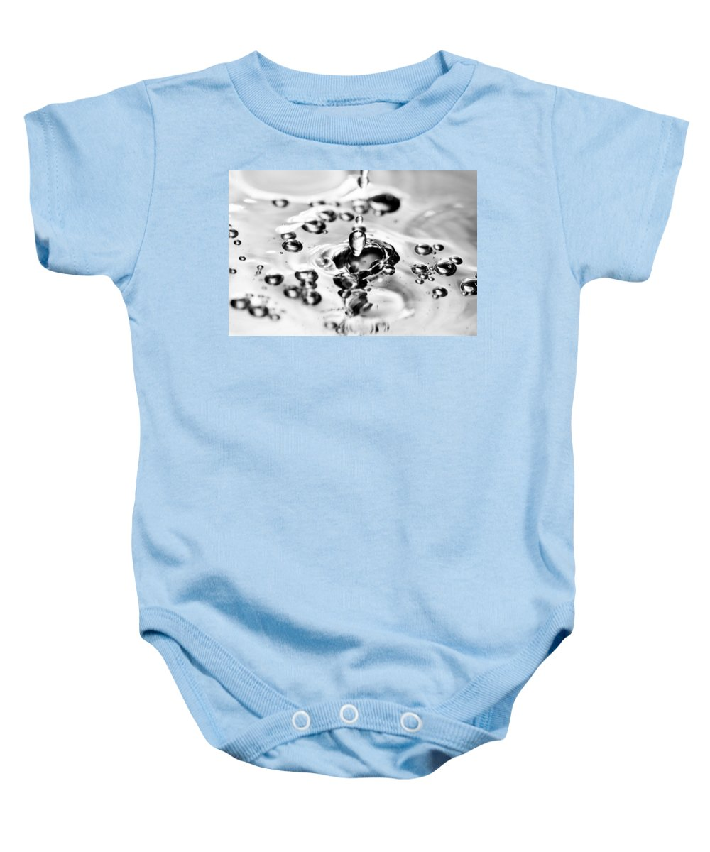 Water Baby Onesie featuring the photograph Waterdrop17 by Danielle Silveira