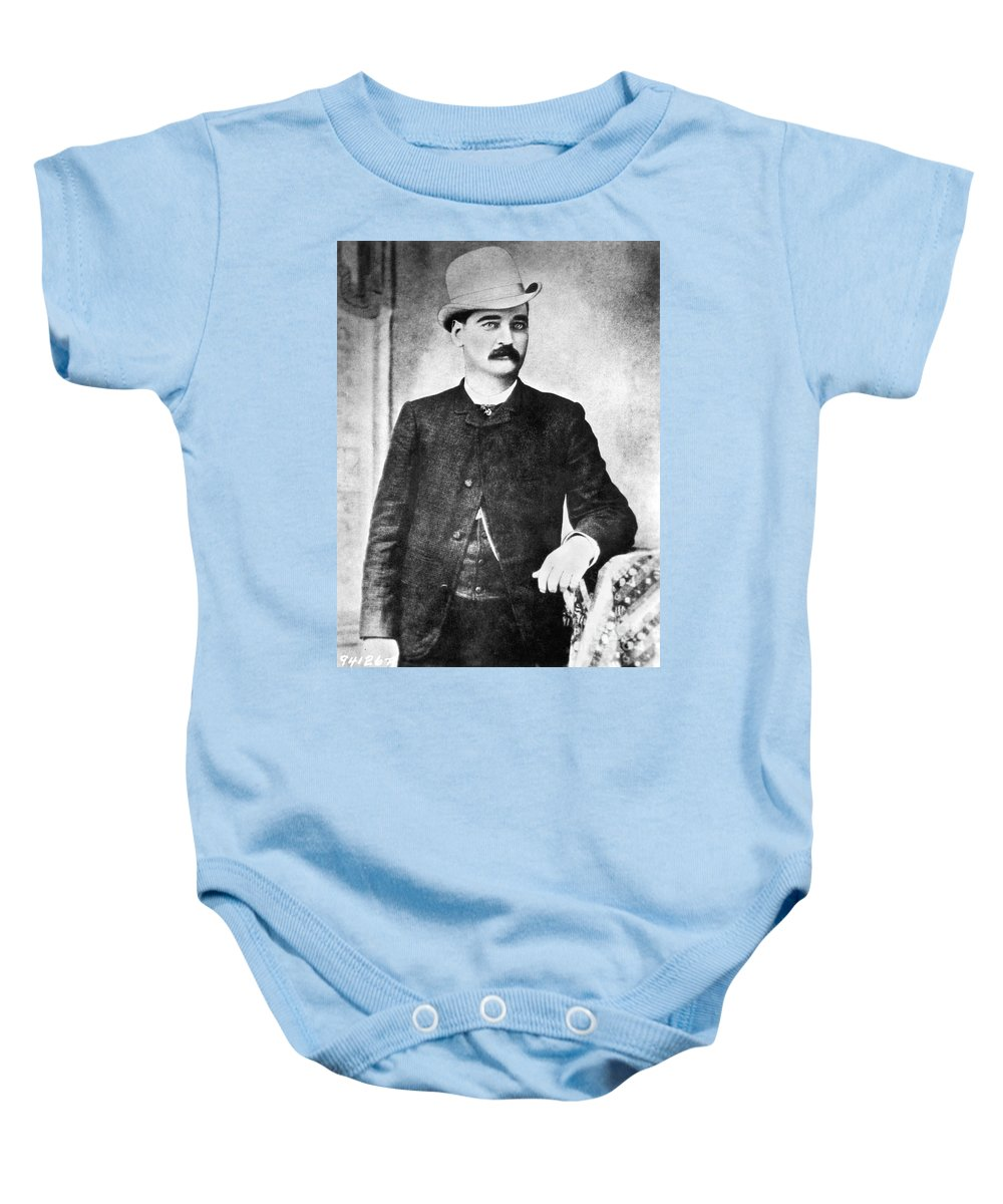 19th Century Baby Onesie featuring the photograph William Barclay Masterson by Granger