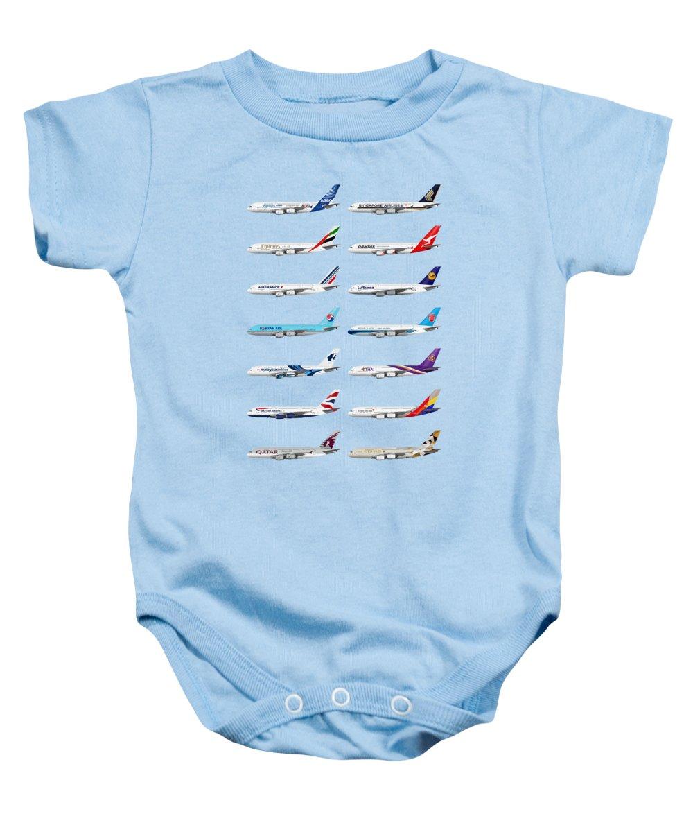 Airliner Baby Onesies