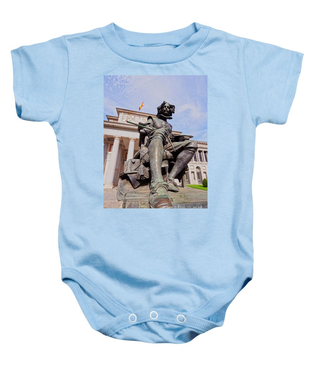 Spain Baby Onesie featuring the photograph Diego Velazquez by Karol Kozlowski
