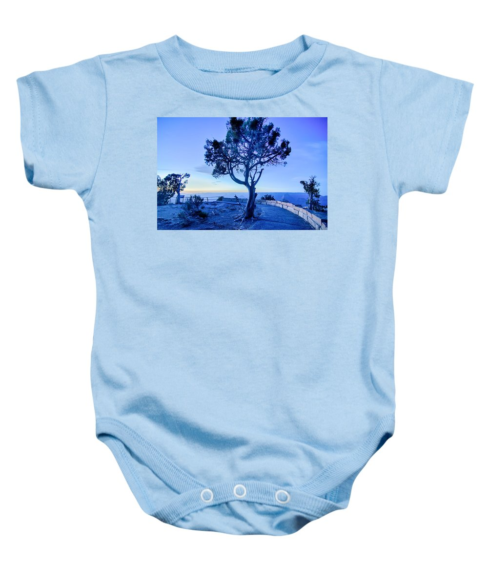 Canyon Baby Onesie featuring the photograph Landscapes At Grand Canyon Arizona by Alex Grichenko