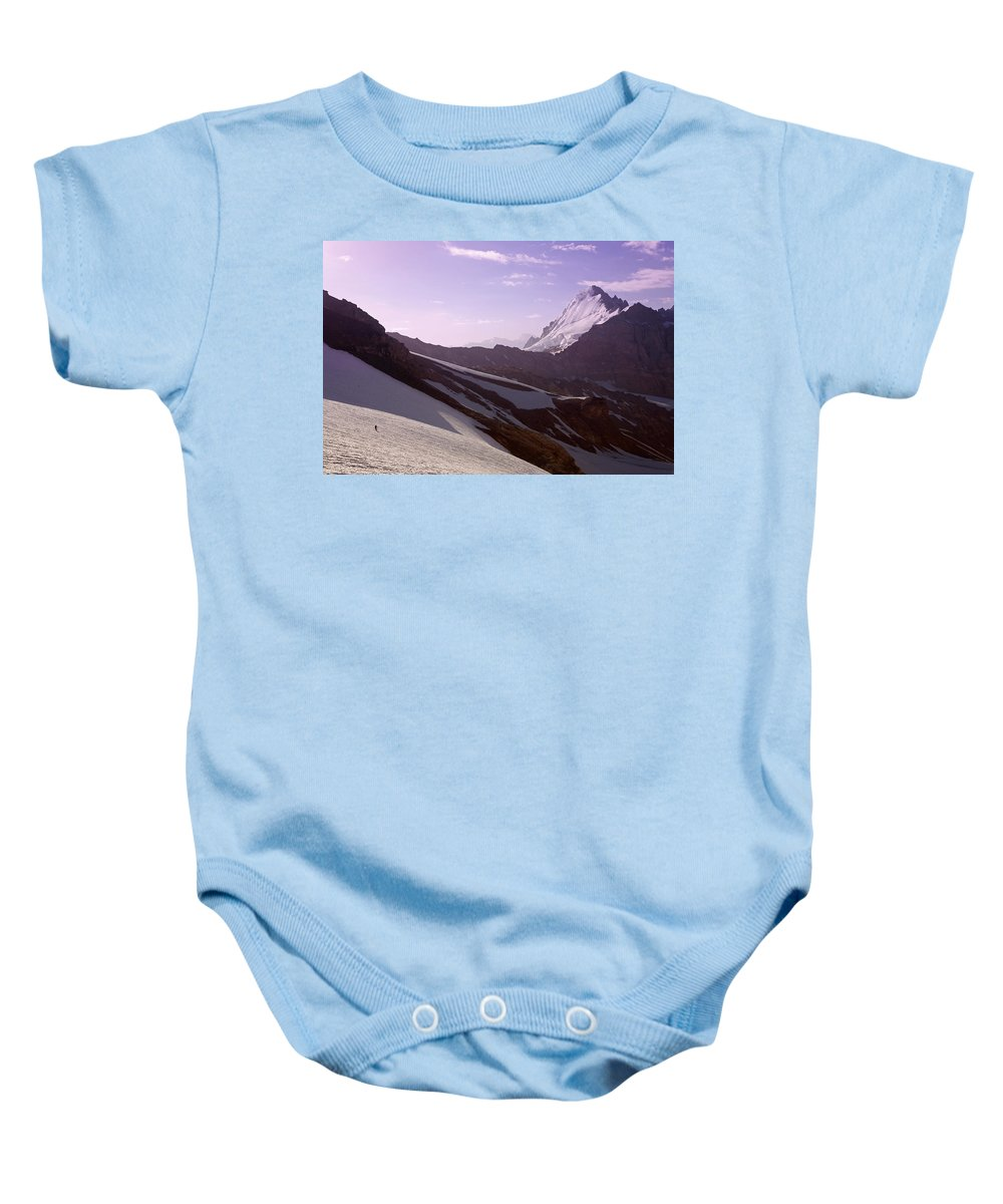 Beautiful Baby Onesie featuring the photograph Pamir by Konstantin Dikovsky