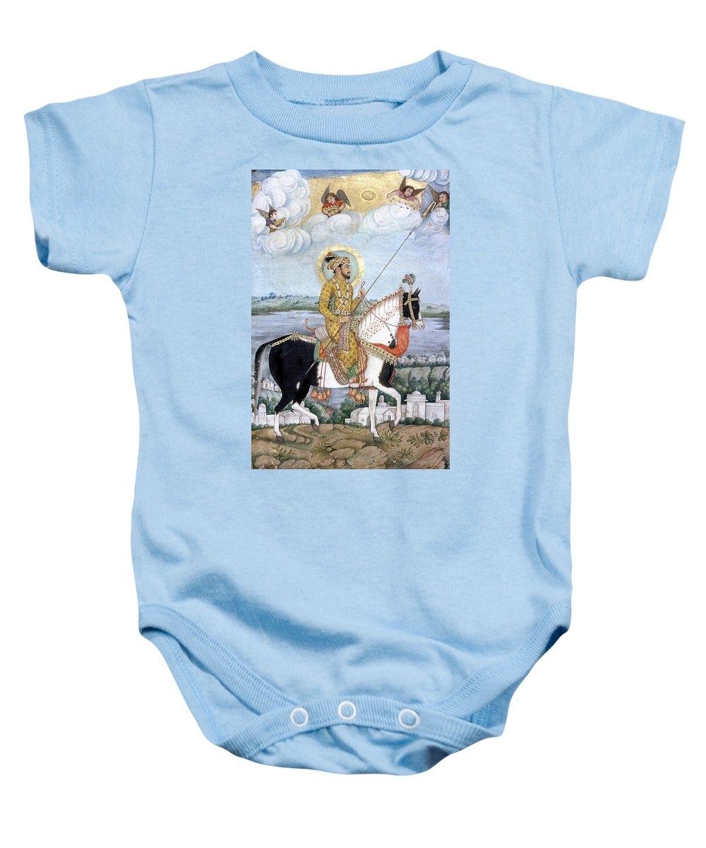 17th Century Baby Onesie featuring the photograph Shah Jahan (1592-1666) by Granger
