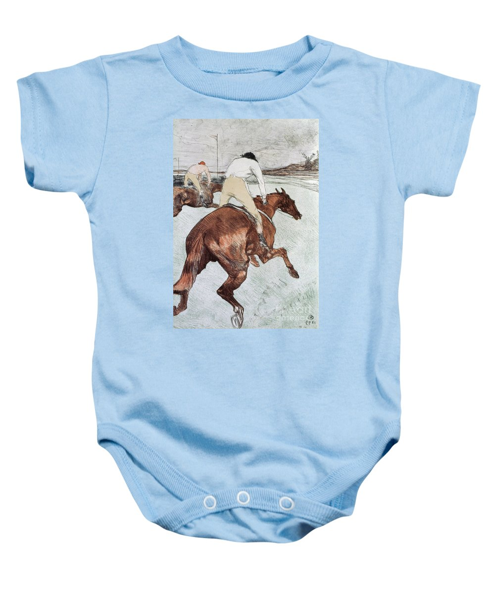1899 Baby Onesie featuring the photograph Toulouse-lautrec, 1899 by Granger