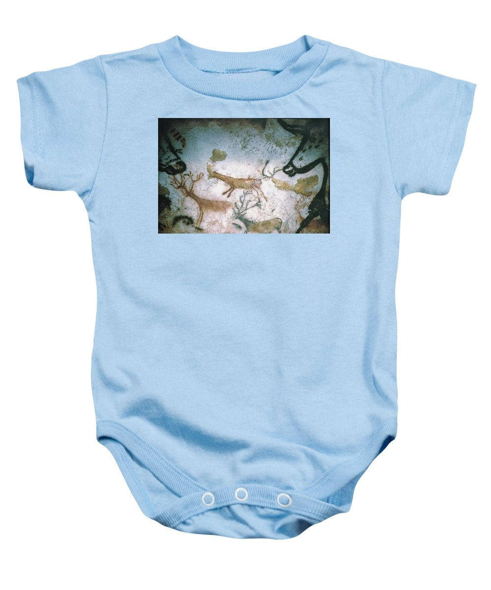 Cave Baby Onesie featuring the photograph Cave Art by Granger