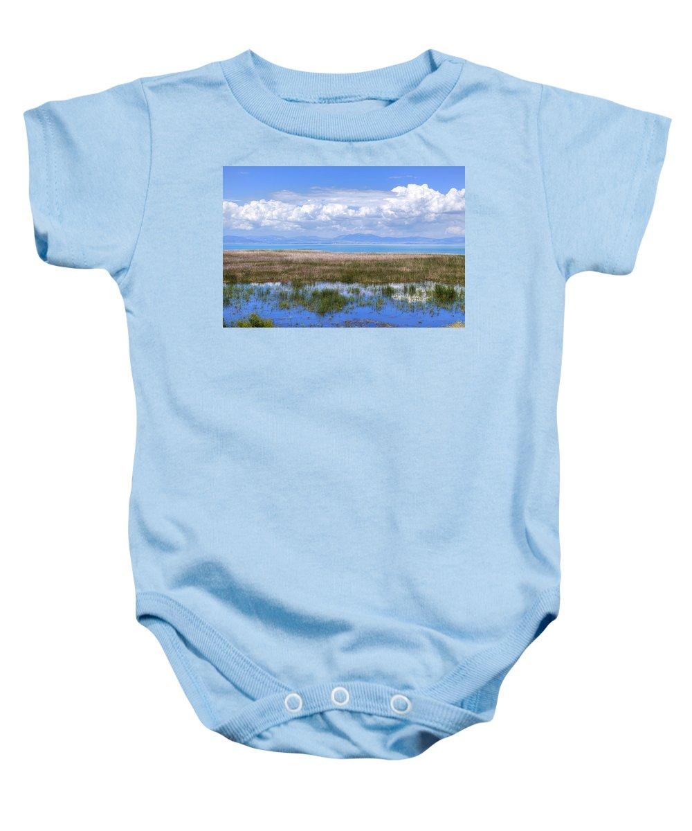 Lake Beysehir Baby Onesie featuring the photograph Lake Beysehir - Turkey by Joana Kruse