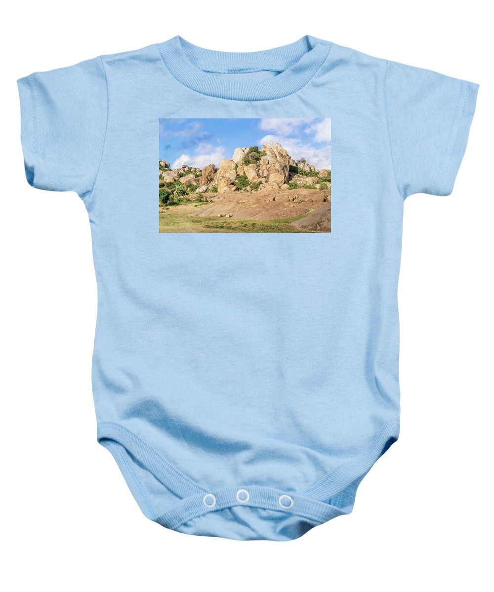 View Baby Onesie featuring the photograph Landscape In Tanzania by Marek Poplawski