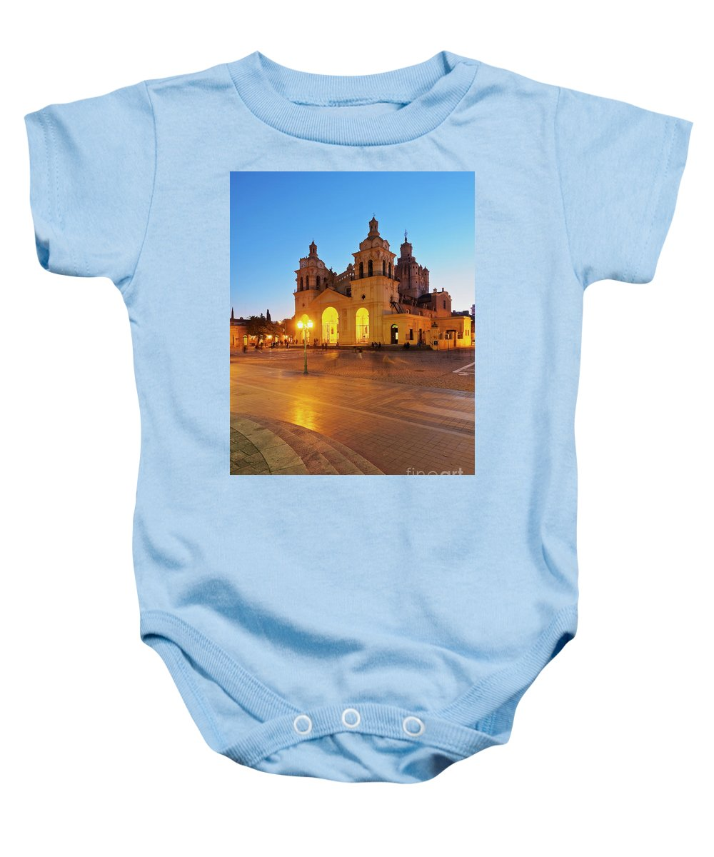 South America Baby Onesie featuring the photograph Cordoba, Argentina by Karol Kozlowski
