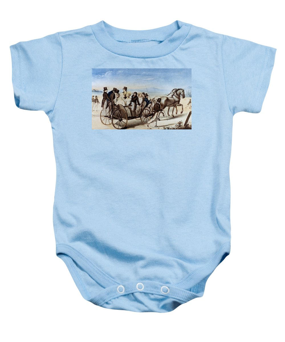 1820 Baby Onesie featuring the photograph Franz Schubert (1797-1828) by Granger