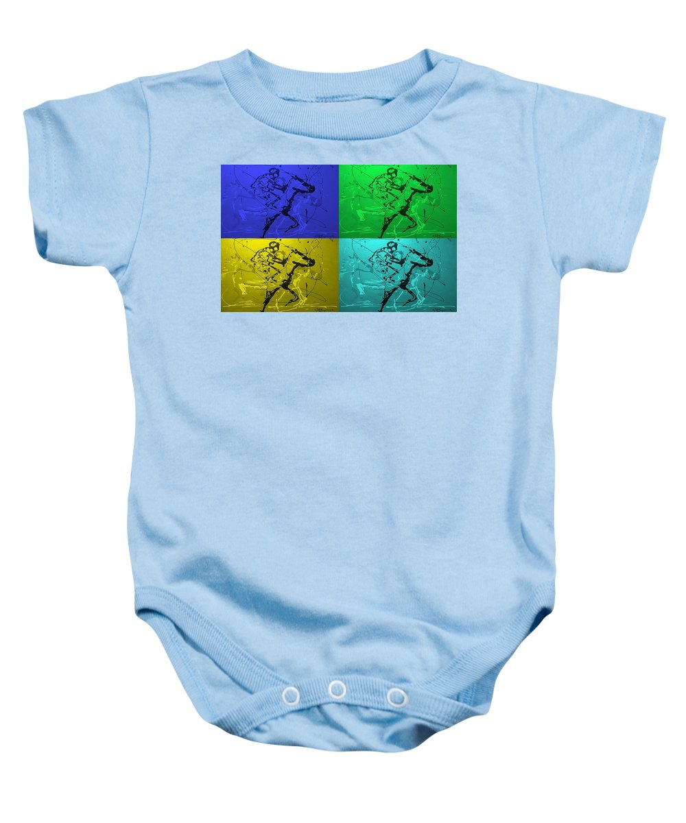 Horses Baby Onesie featuring the photograph A Great Day In Kentucky by J R Seymour