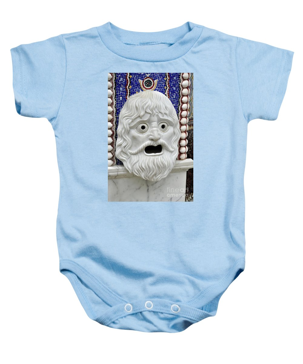 Tlle Baby Onesie featuring the photograph Aaaack by Clayton Bruster