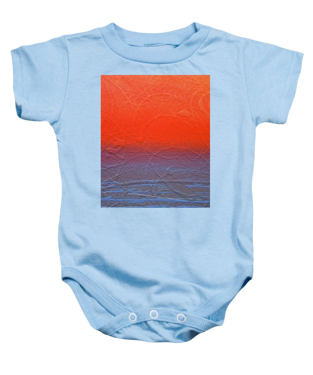 Abstract Baby Onesie featuring the photograph Abstract Artography 560018 by E Lee Wilson Jr