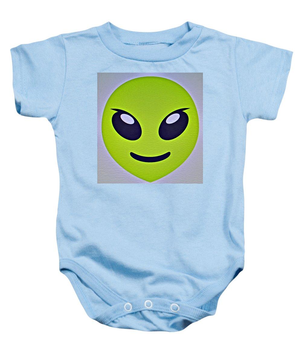 Alien Emoji Onesie For Sale By Modern Art