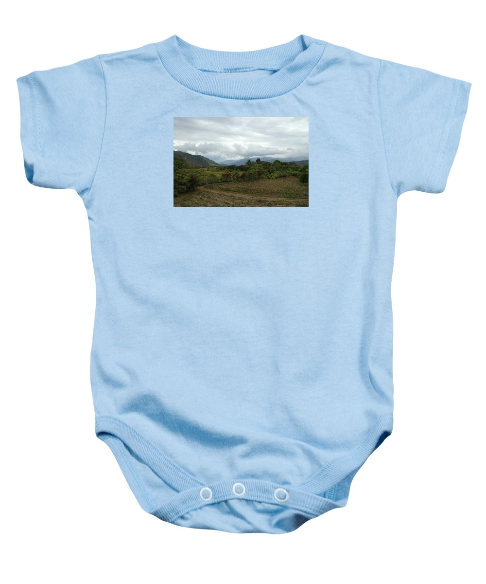 Tropics Baby Onesie featuring the photograph An Amazing View by Teresa Stallings