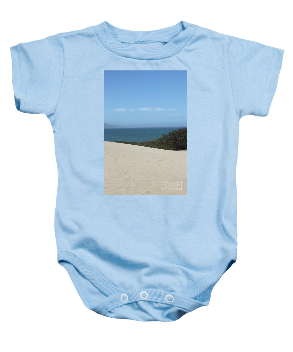 ano Nuevo Baby Onesie featuring the photograph Ano Neuvo by Amanda Barcon