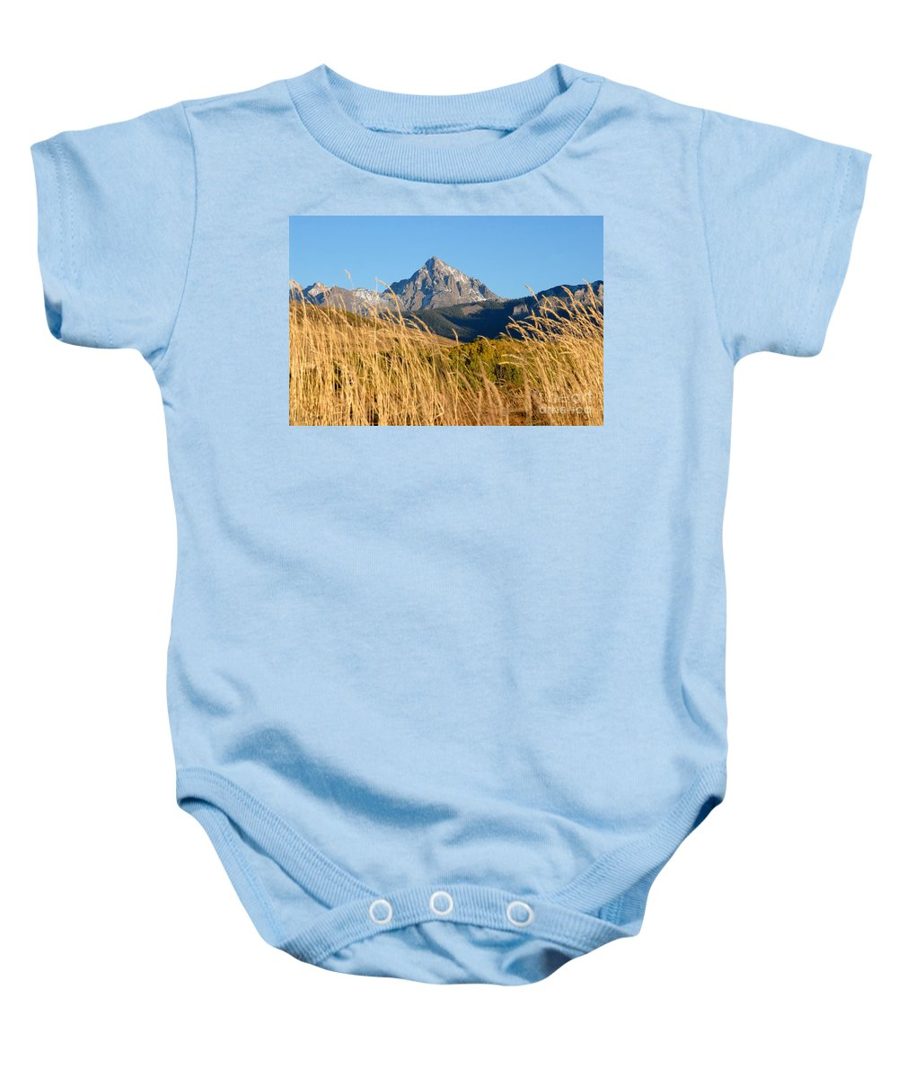 Fall Baby Onesie featuring the photograph Autumn Day by David Lee Thompson