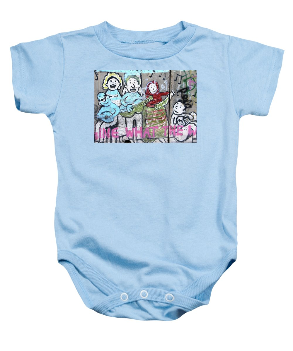 Band Baby Onesie featuring the photograph Band by Munir Alawi