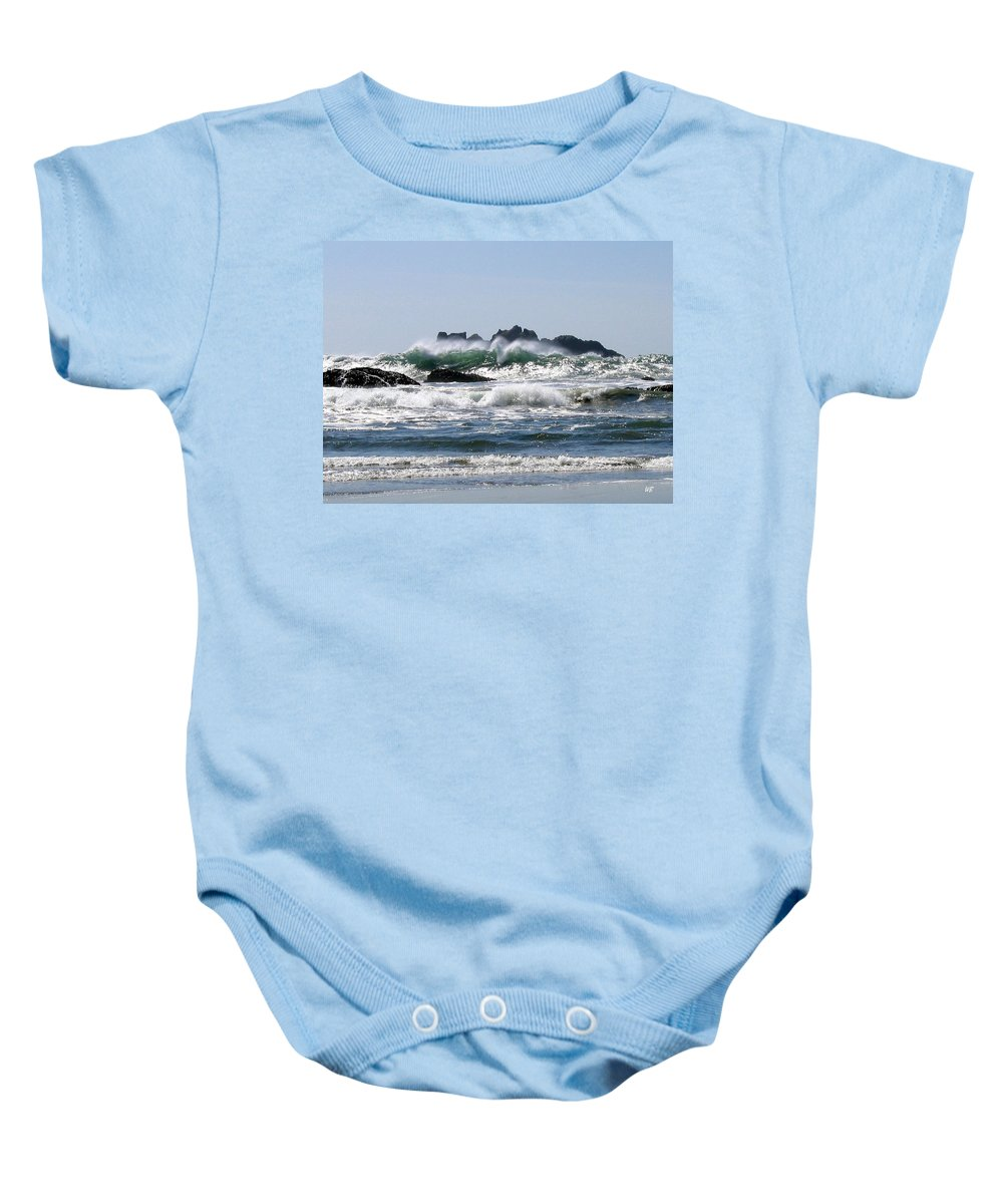 Bandon Baby Onesie featuring the photograph Bandon 20 by Will Borden