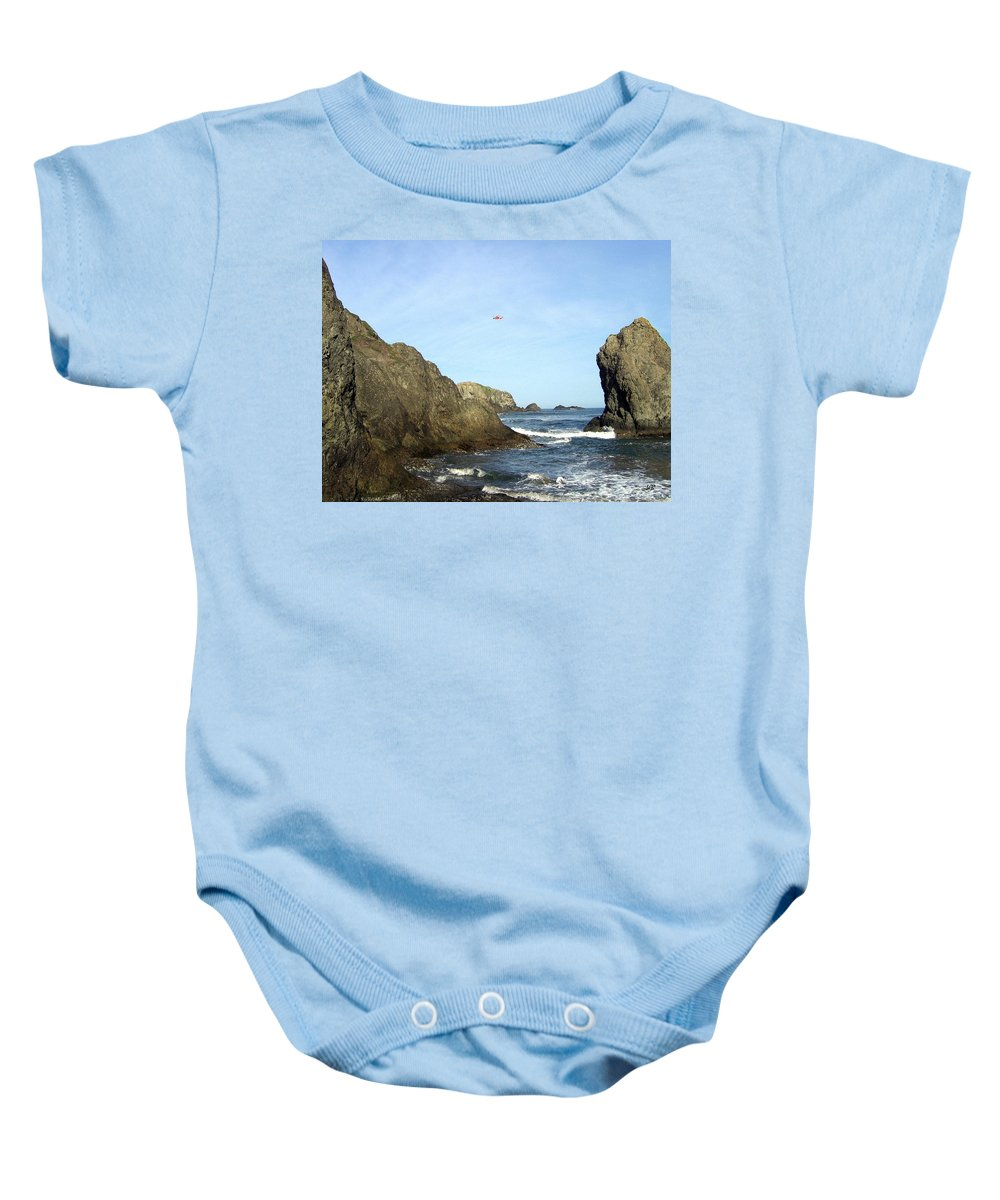 #bandon28 Baby Onesie featuring the photograph Bandon 28 by Will Borden