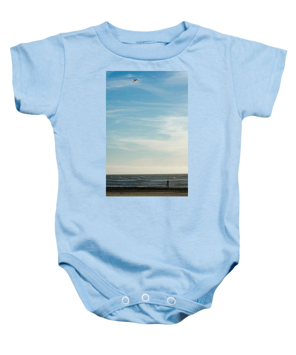 Nature Baby Onesie featuring the photograph Beach Day by John K Sampson