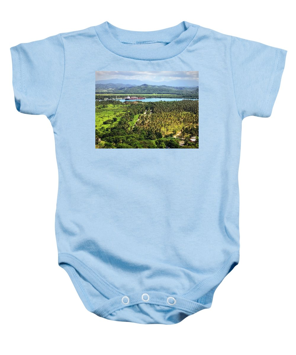 Yabucoa Baby Onesie featuring the photograph Before The Storm by Olga Melendez