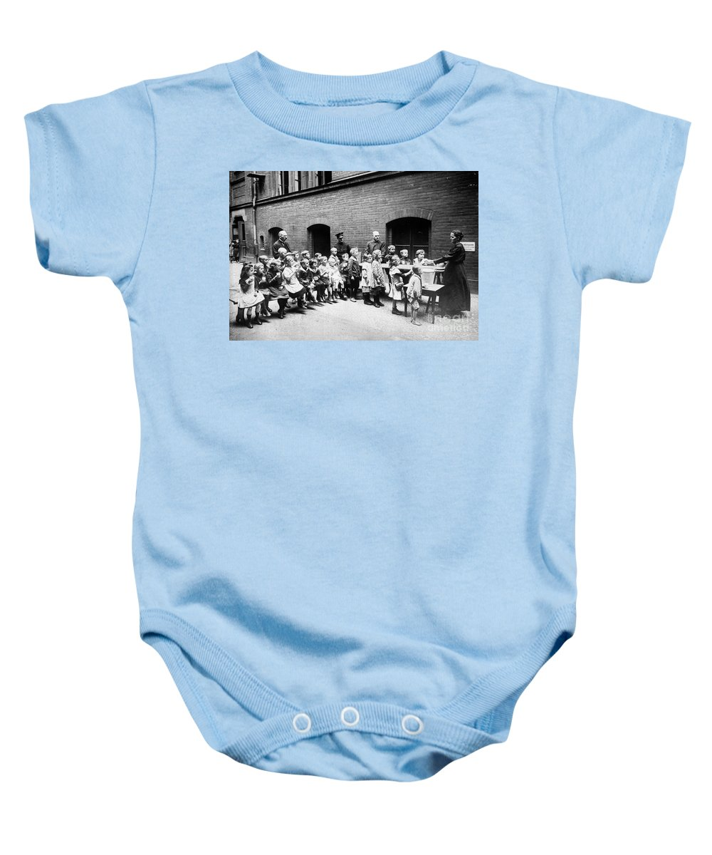 20th Century Baby Onesie featuring the photograph Berlin: Salvation Army by Granger