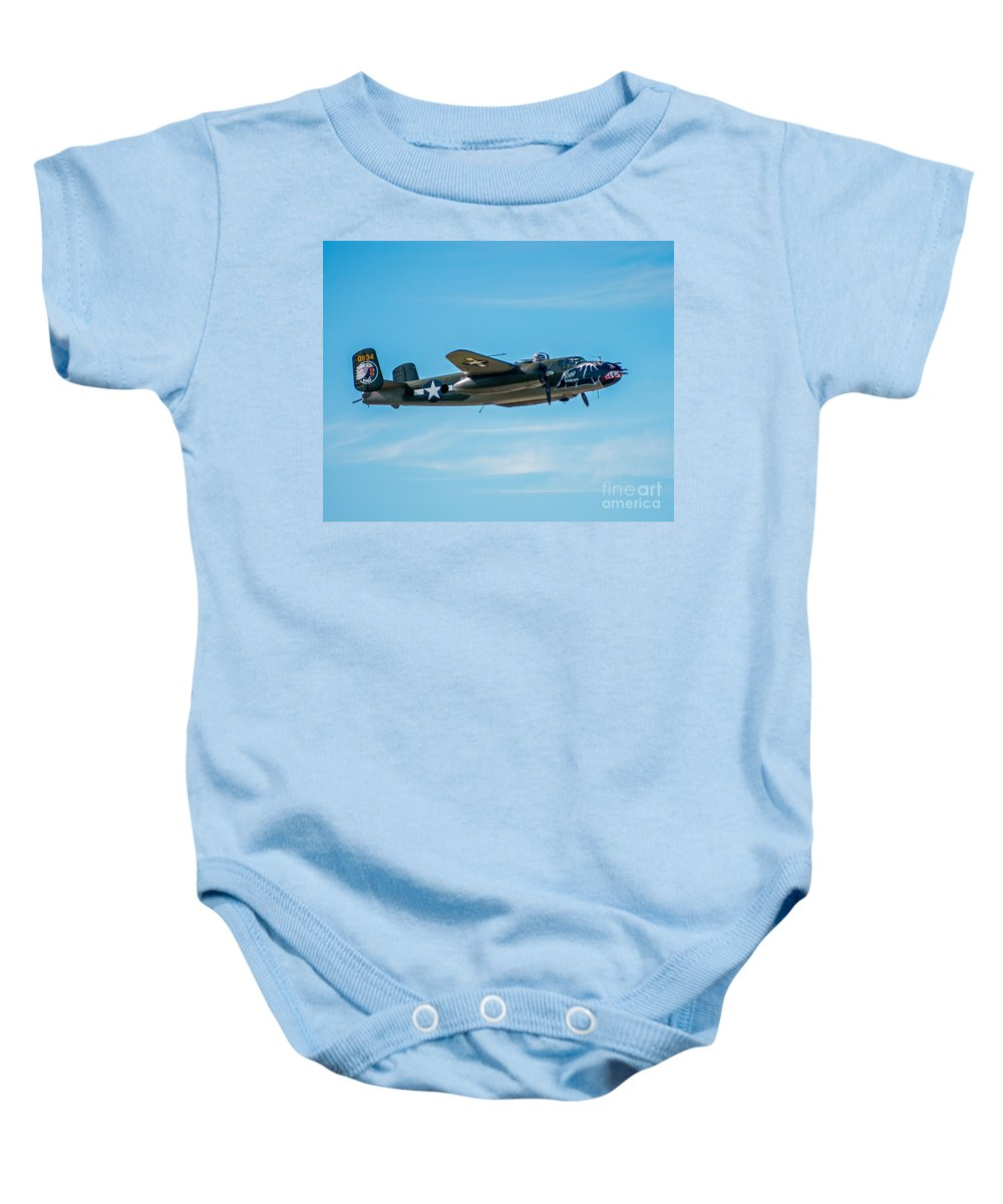 B 25 Baby Onesie featuring the photograph Betty' S Dream 2 by Stephen Whalen