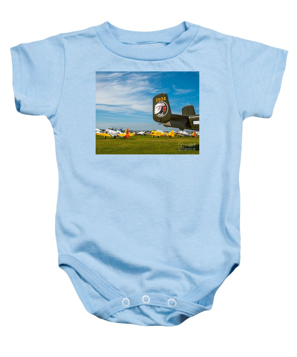 Betty's Dream Baby Onesie featuring the photograph Betty's Dream by Stephen Whalen