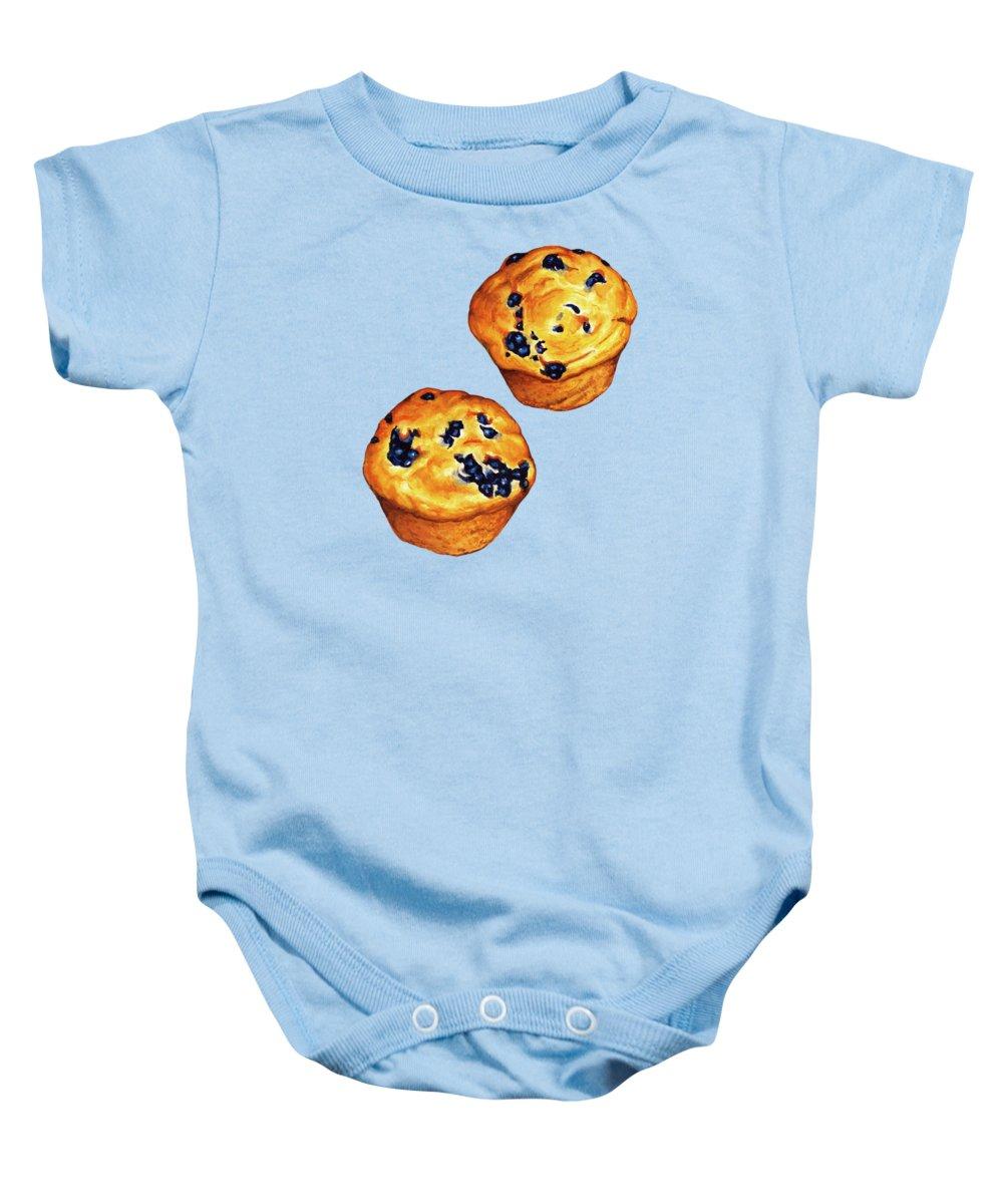 Blueberry Baby Onesies