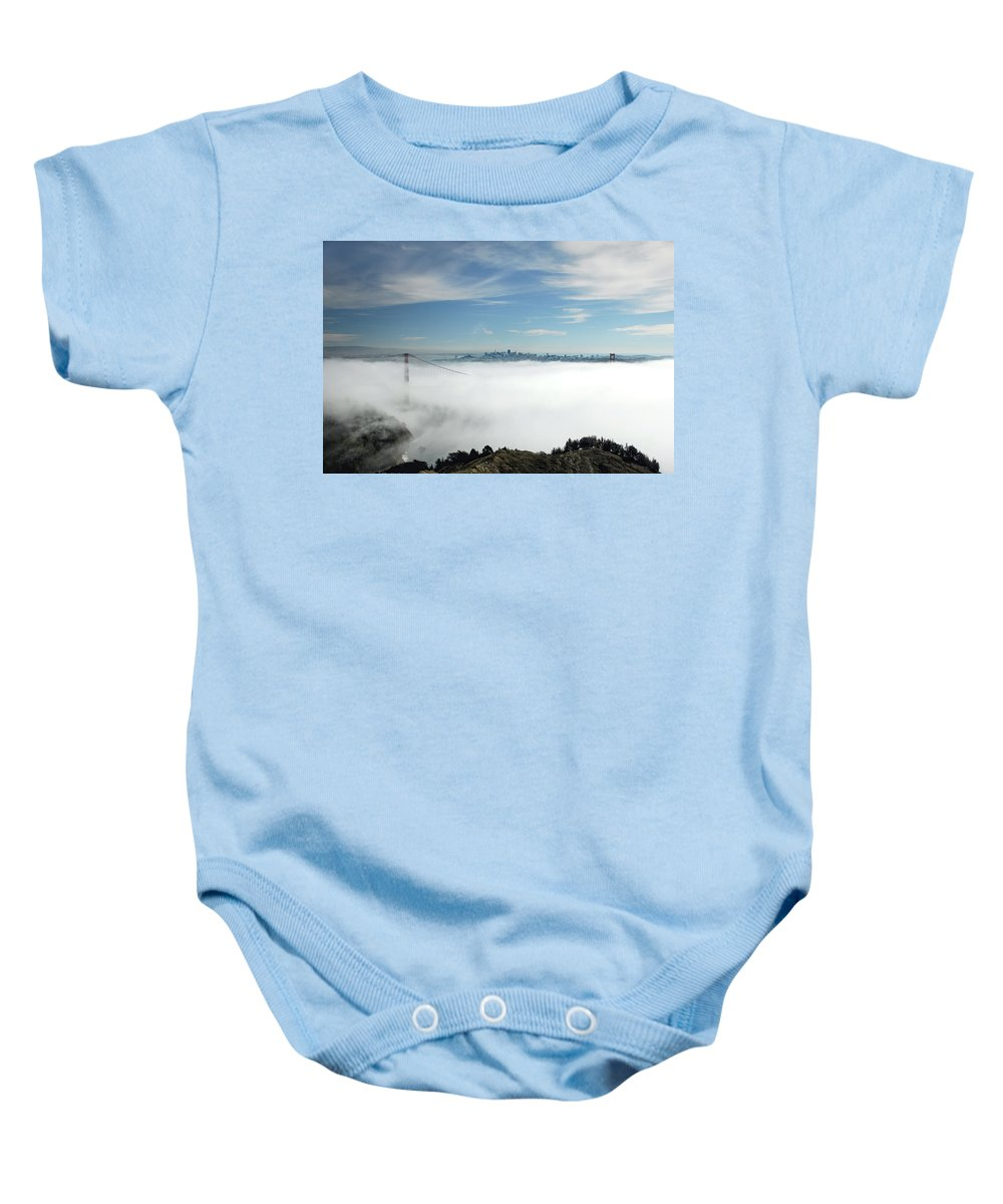 San Francisco Baby Onesie featuring the photograph Brigadoon by Donna Blackhall