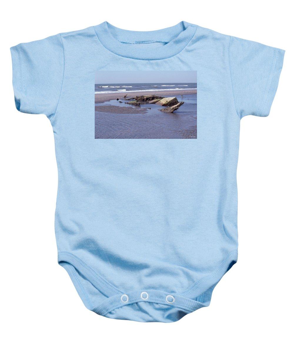 South Carolina Baby Onesie featuring the photograph Bull Island 1 by Gordon Mooneyhan