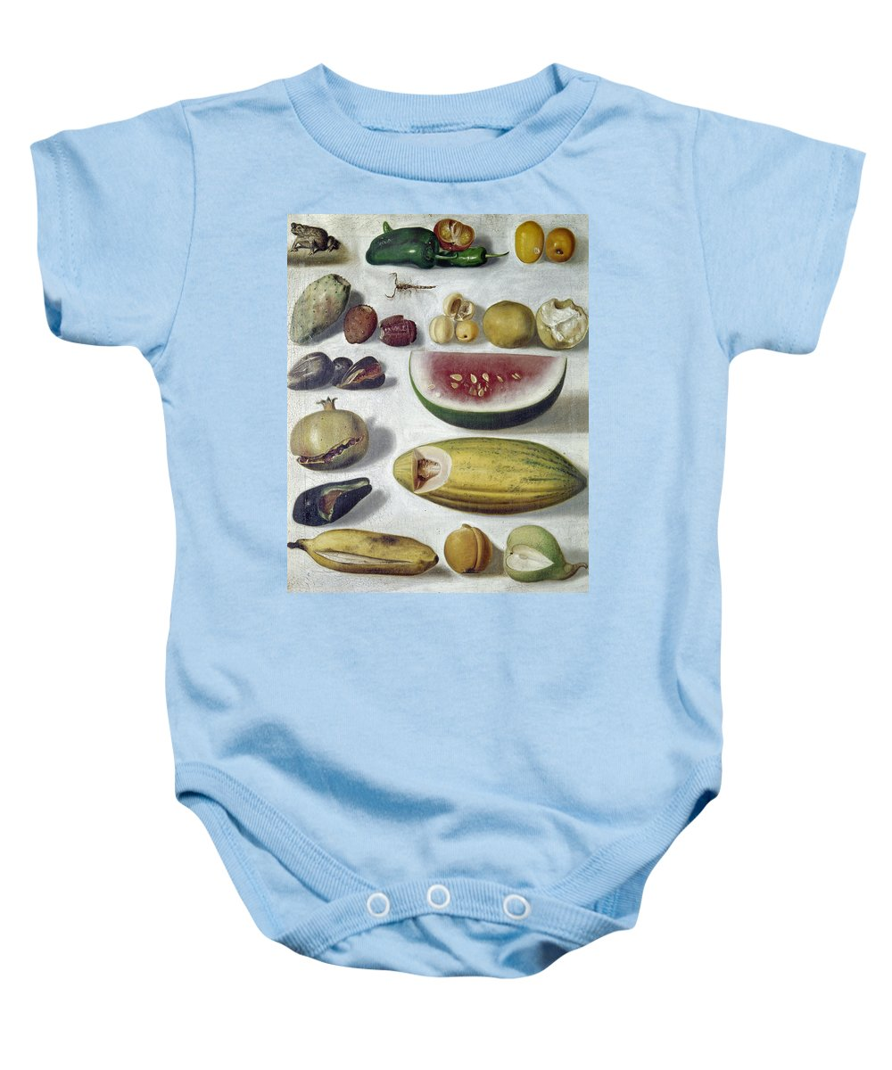 1874 Baby Onesie featuring the photograph Bustos: Still Life, 1874 by Granger