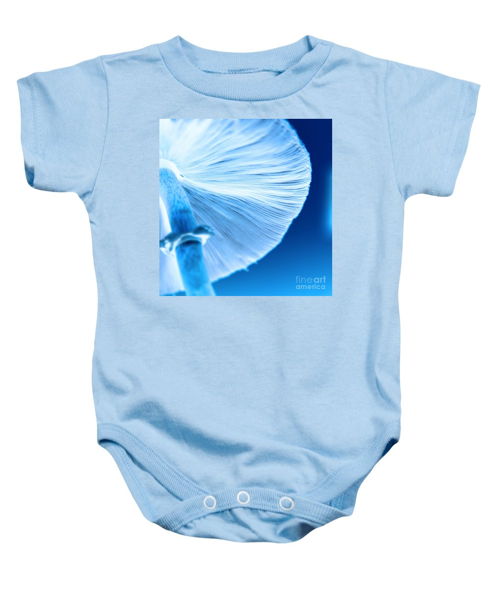 Mushrooms Baby Onesie featuring the photograph Captastic by Amanda Barcon