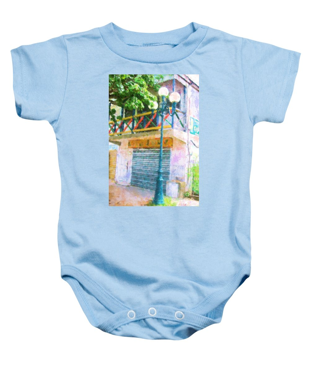 St. Martin Baby Onesie featuring the photograph Cest La Vie by Debbi Granruth