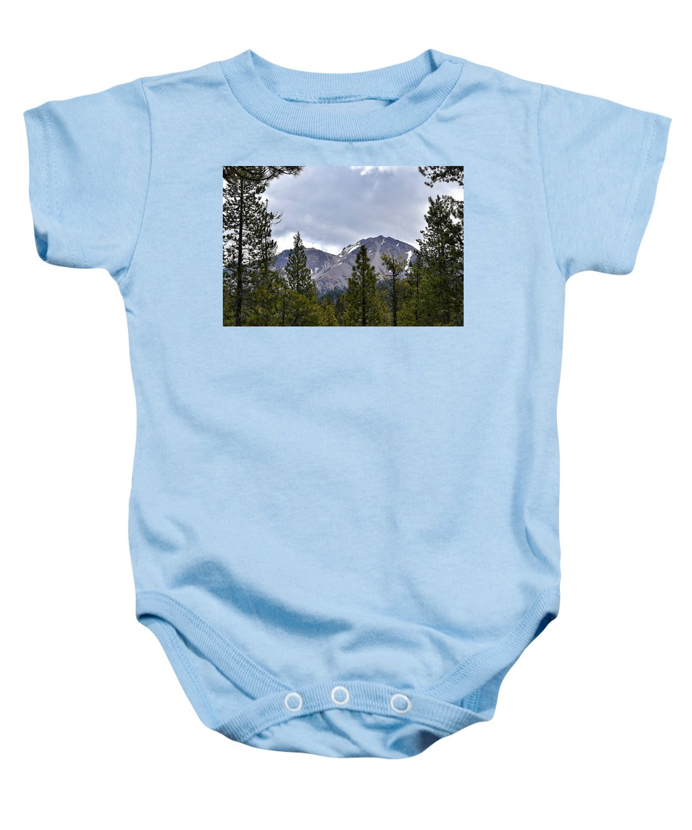 Reflection Lake Baby Onesie featuring the photograph Chaos Crags by Sagittarius Viking