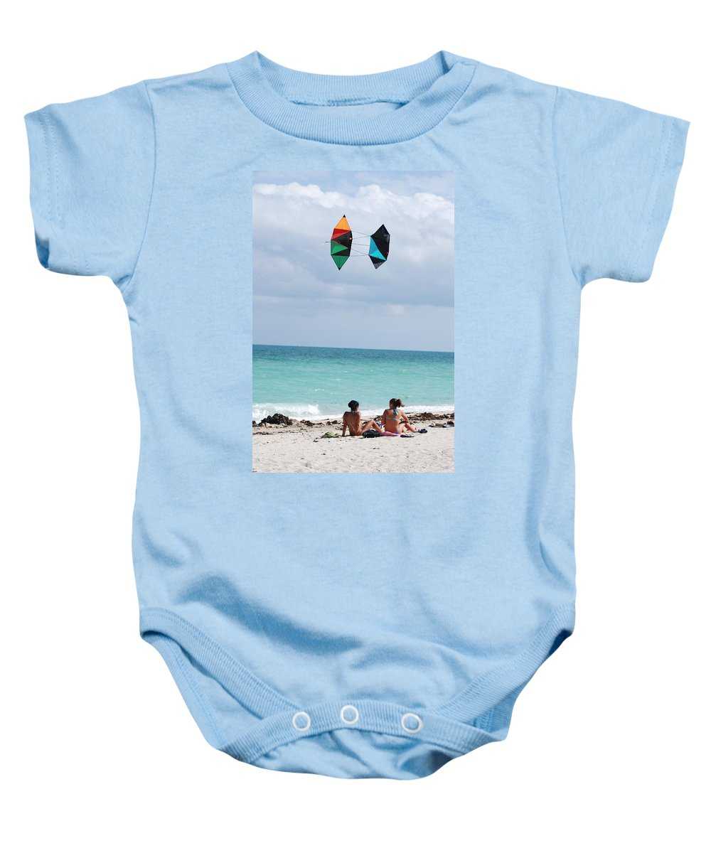 Sea Scape Baby Onesie featuring the photograph Close Encounters by Rob Hans