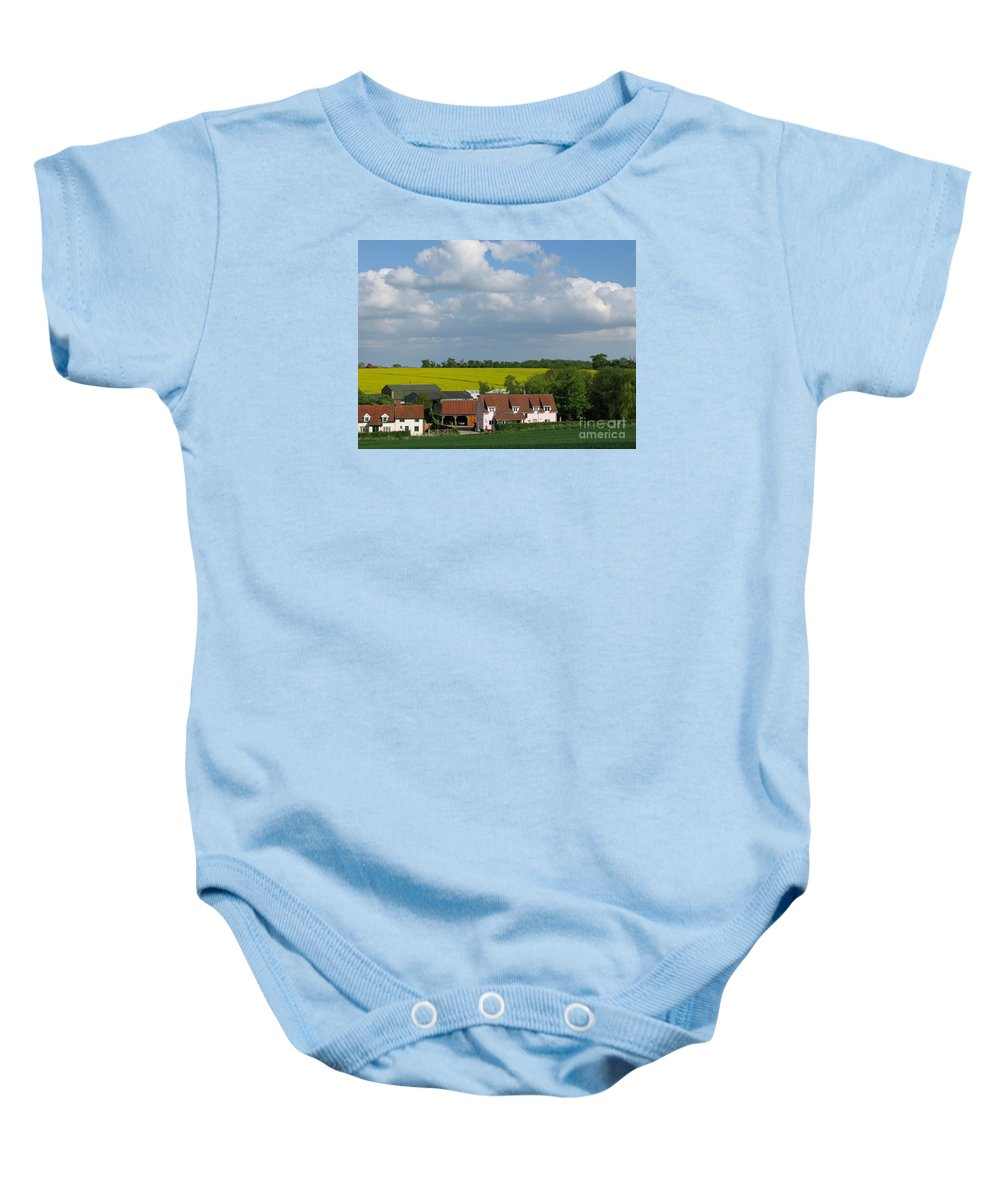 Cloud Baby Onesie featuring the photograph Cloud Cover by Ann Horn