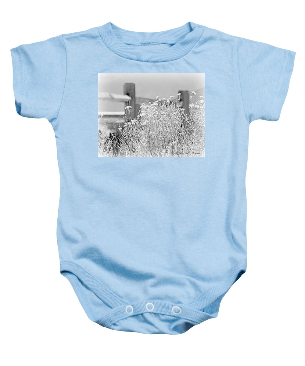 Country Baby Onesie featuring the photograph Country by Bobbee Rickard