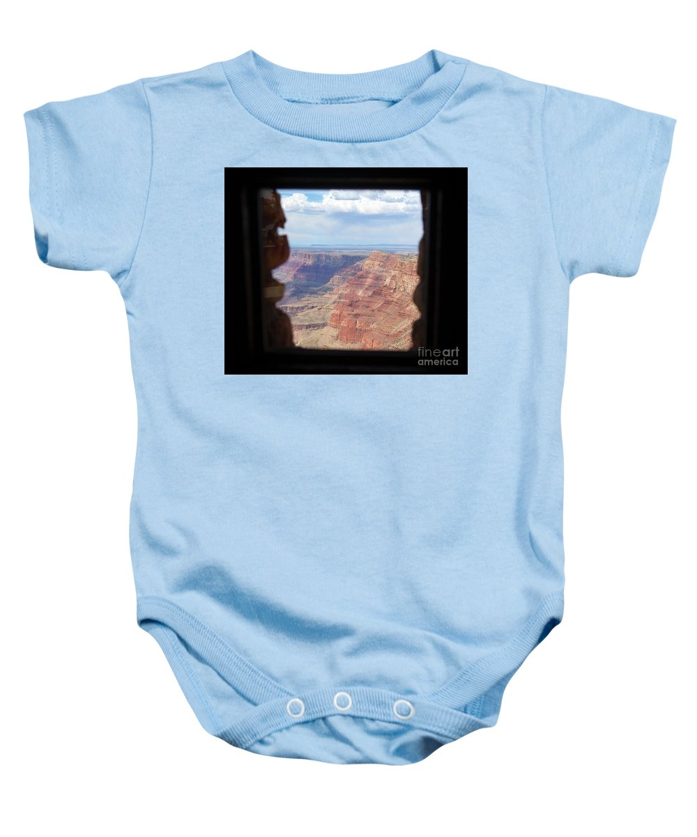 Grand Canyon Baby Onesie featuring the photograph Desert Watchtower View Grand Canyon by Chuck Kuhn