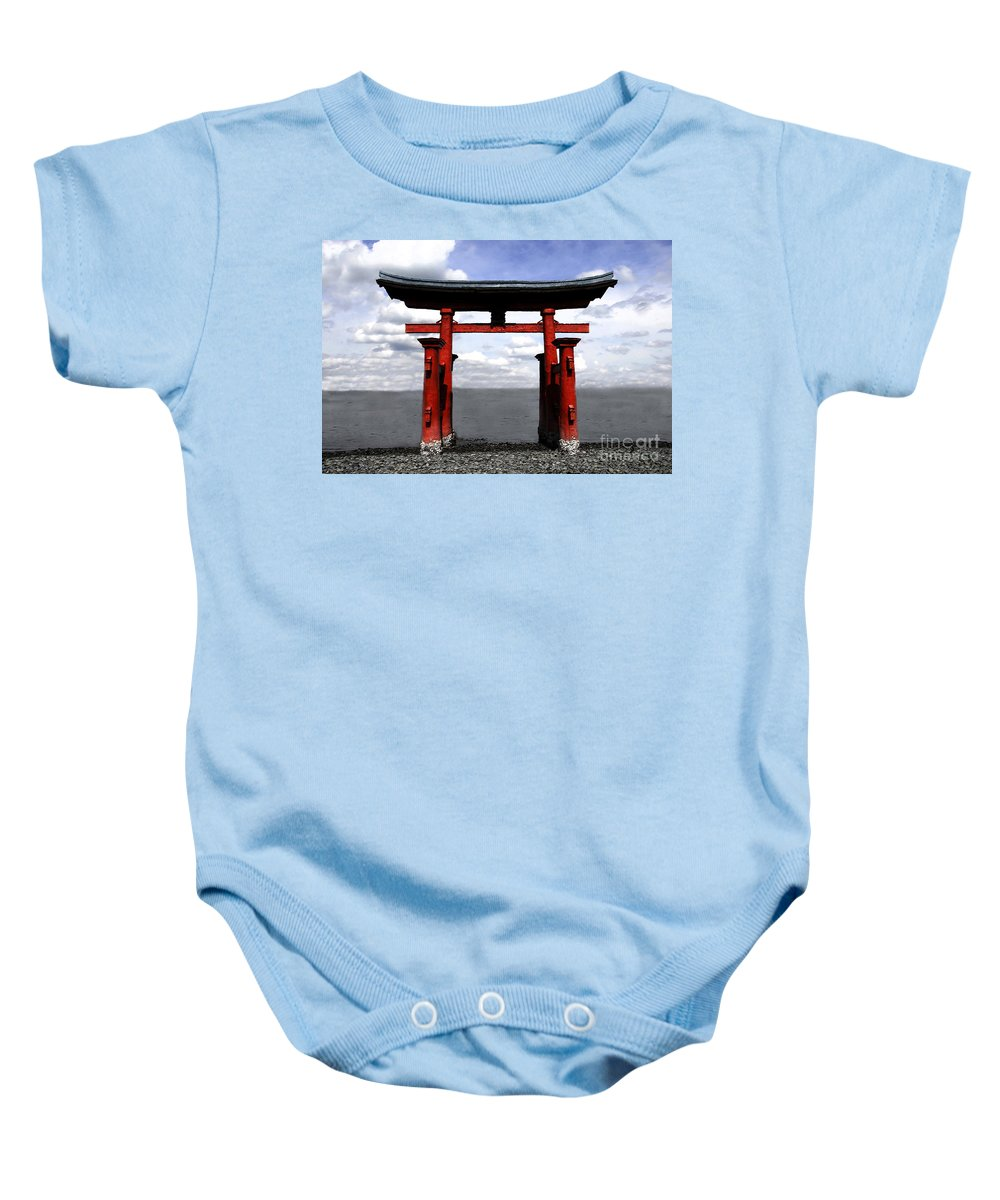 Japan Baby Onesie featuring the photograph Dreaming In Japan by David Lee Thompson
