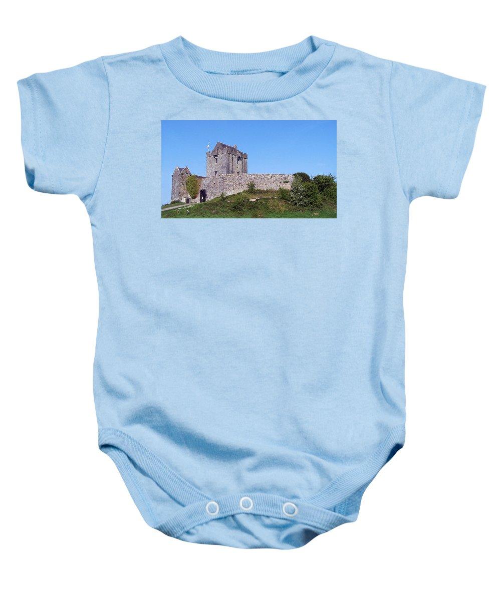 Irish Baby Onesie featuring the photograph Dunguaire Castle Kinvara Ireland by Teresa Mucha