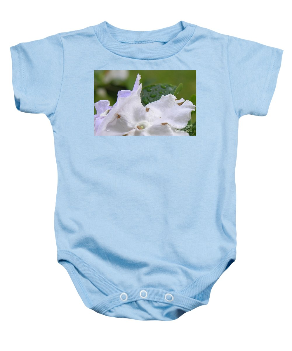 Flower Baby Onesie featuring the photograph Easter Surprise by Richard Rizzo