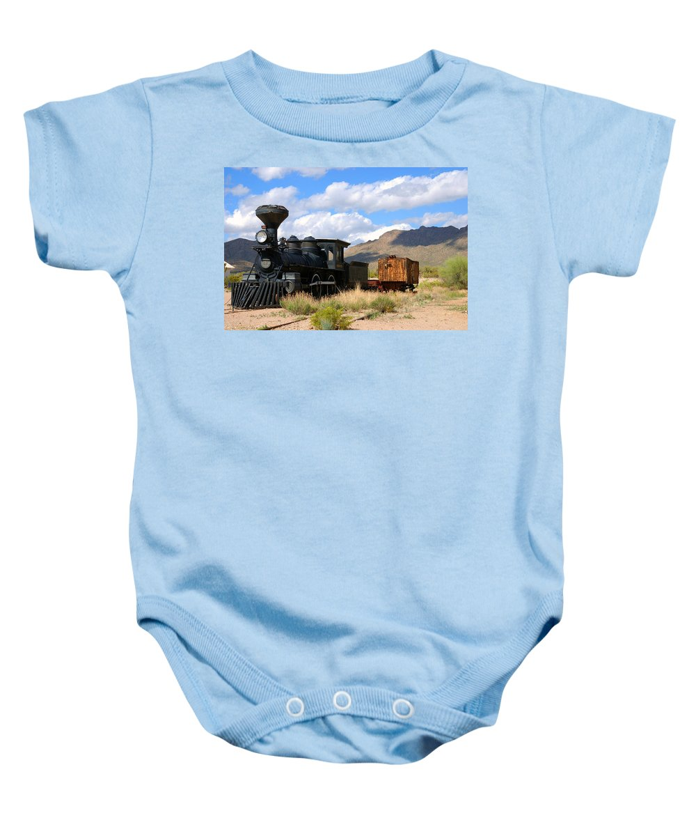 Photography Baby Onesie featuring the photograph El Reno by Susanne Van Hulst